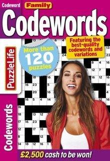 PuzzleLife Family Codewords Magazine