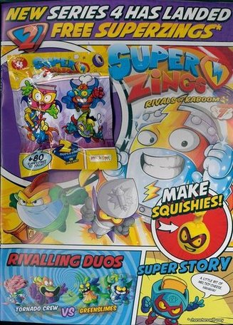 Superzings Official Magazine