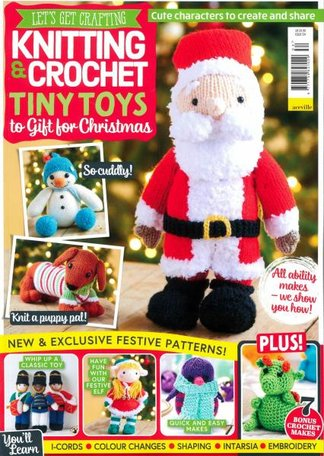 Let's Get Crafting Knitting & Crochet Magazine