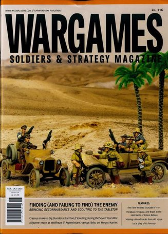 Wargames Soldiers & Strategy Magazine (English Edition)